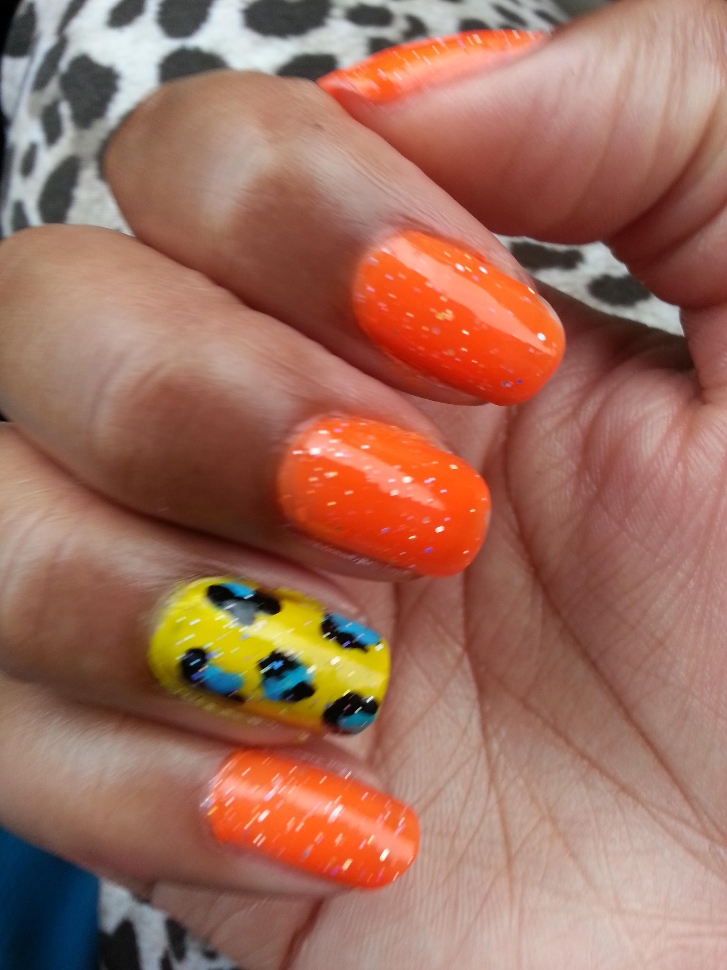 Fun Summer Nails – Brandi Treadway